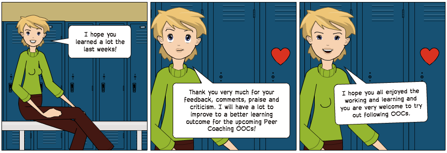 "© Carmen Wolf ""learning outcome"" Pixton.com 2014"